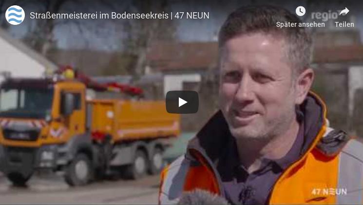 Mobile Streckenkontrolle digital: Beitrag über den Bodenseekreis