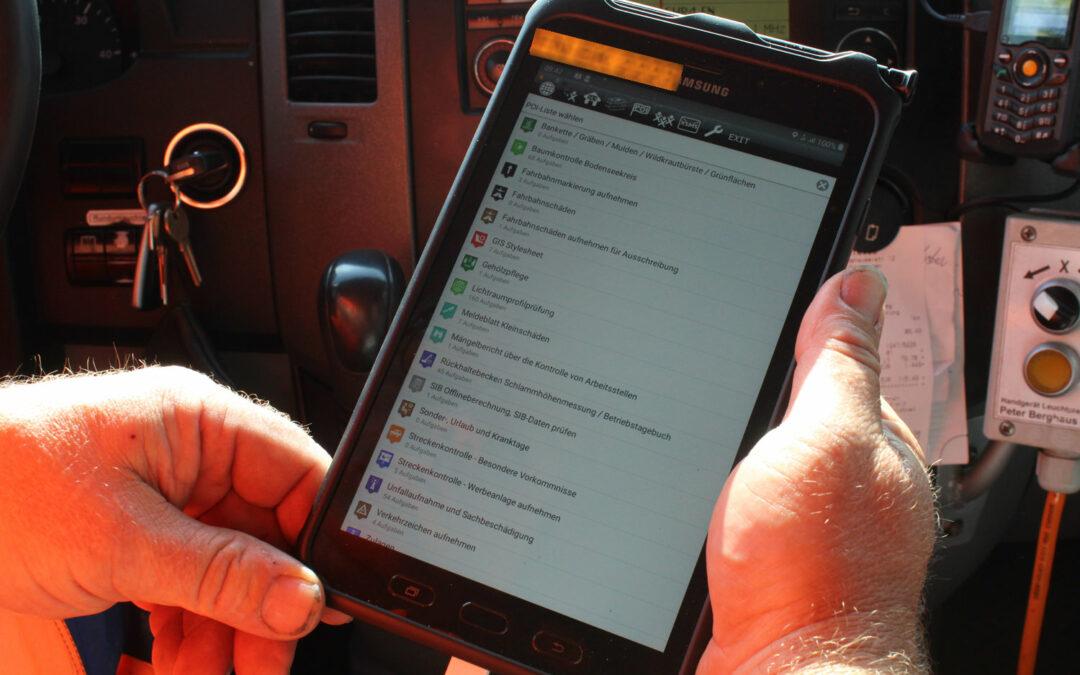 Digitalisierung für mobiles Arbeiten